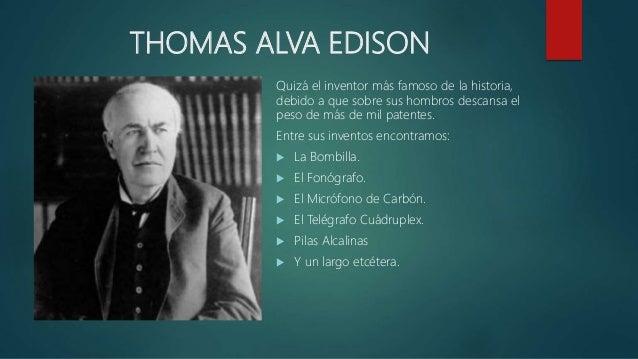 inventores famosos e inventos
