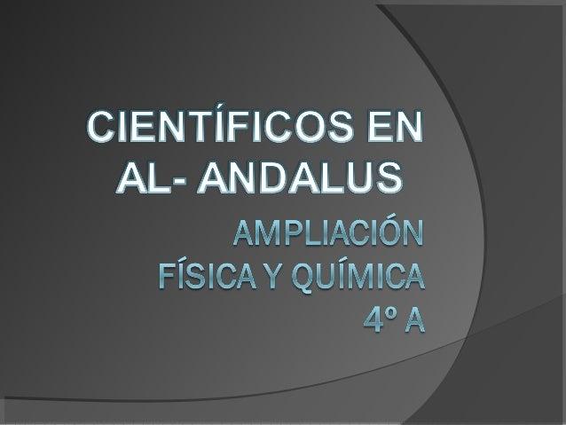 """CON MOTIVO DE LA II SEMANA DE LA CIENCIA Y DE LA TECNOLOGÍA Y, ENTRONCANDO CON NUESTRO PROYECTO """"RUTA DE LAS TRES CULTURAS..."""