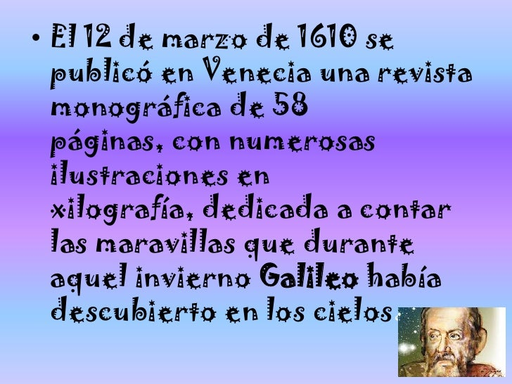 Resultado de imagen para VENECIA GALILEO