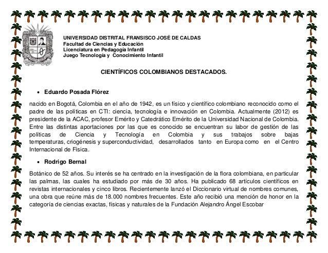 UNIVERSIDAD DISTRITAL FRANSISCO JOSÉ DE CALDAS Facultad de Ciencias y Educación Licenciatura en Pedagogía Infantil Juego T...