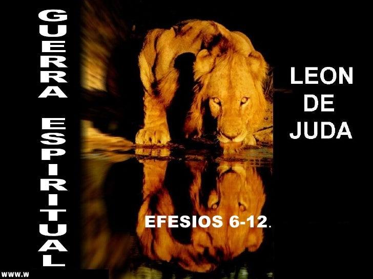 EFESIOS 6-12 . GUERRA ESPIRITUAL