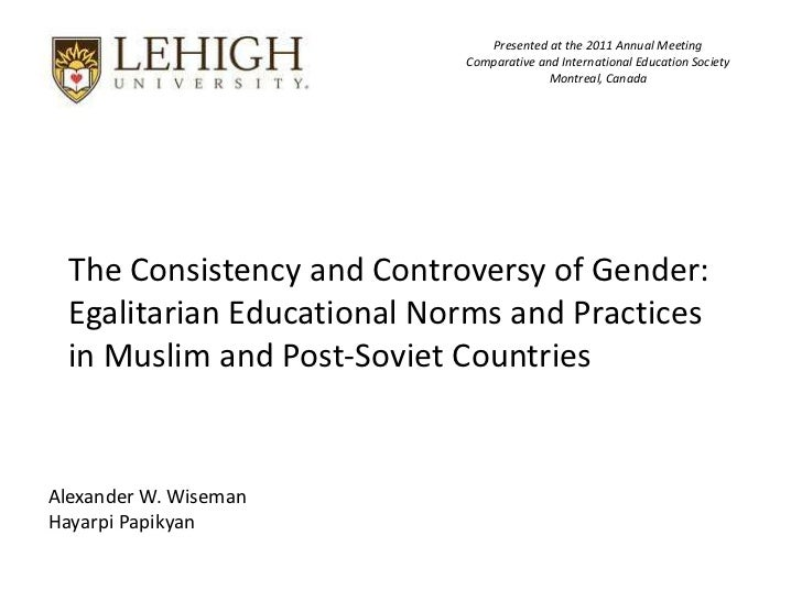 Presented at the 2011 Annual Meeting                            Comparative and International Education Society           ...
