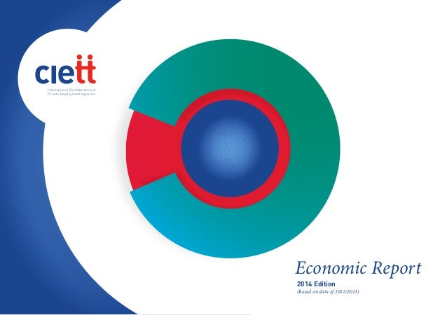 Economic Report 2014 Edition (Based on data of 2012/2013)