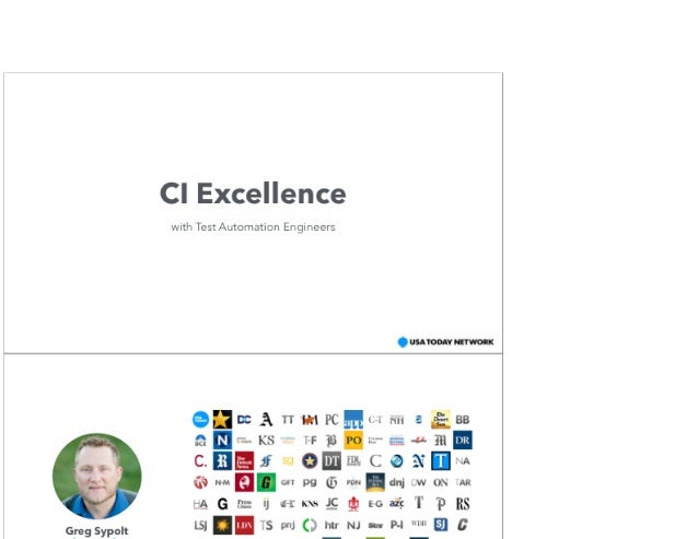 CI Excellence With Test Automation Engineers