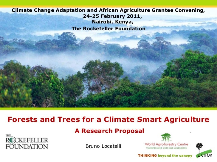 Climate Change Adaptation and African Agriculture Grantee Convening,                         24-25 February 2011,         ...