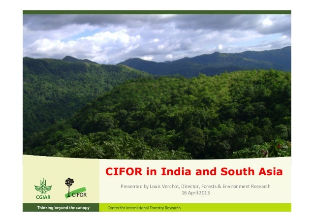 CIFOR in India and South AsiaPresented