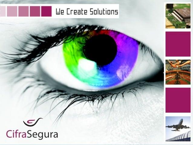 CRIAMOS SOLUÇÕES __________________________ Tecnologia de Ambiente Audiovisual, Lda. Soluções de Segurança, Lda.
