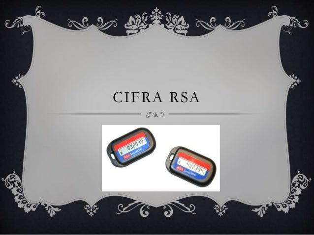 CIFRA RSA