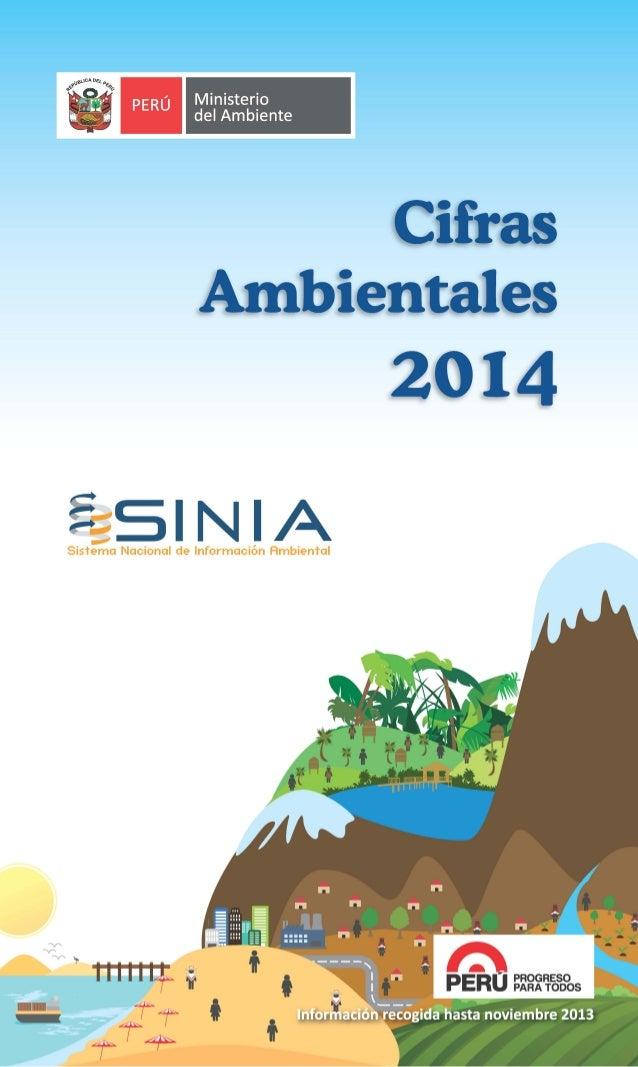 MINAM - Cifras ambientales 2014