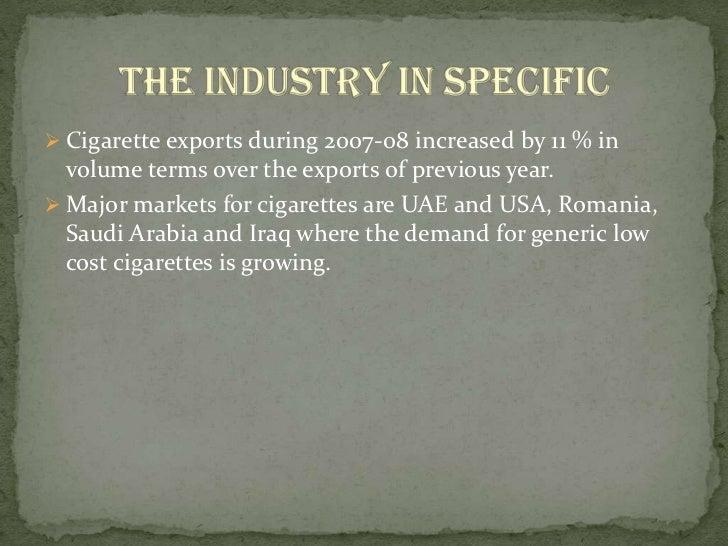 Cigarettes Brands In India