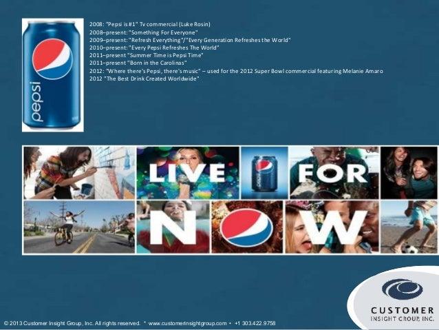 "2008: ""Pepsi is #1"" Тv commercial (Luke Rosin)                                2008–present: ""Something For Everyone""      ..."