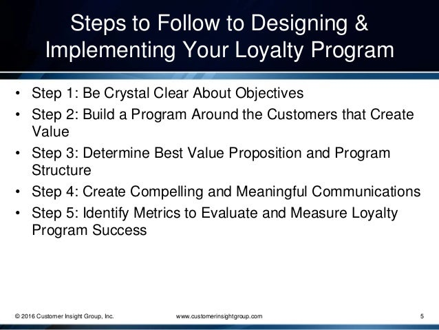 how to build a loyalty program