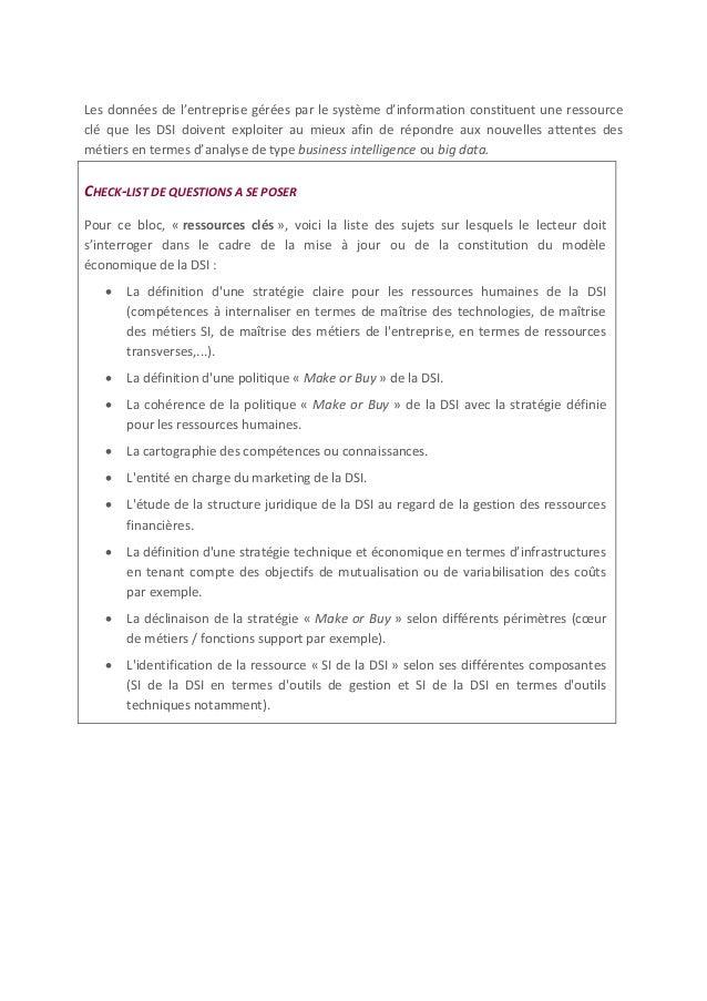 2. OFFRE QUE LA DSI PROPOSE A SES CLIENTS METIERS 2.1 PV : PROPOSITION DE VALEUR POUR LES CLIENTS Les propositions de vale...