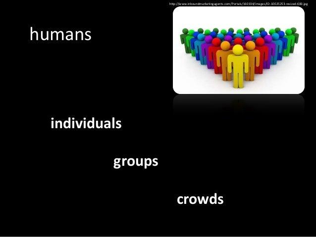 individuals  versus