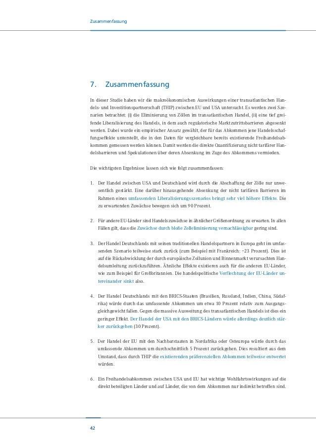 43 Zusammenfassung Auch innerhalb der EU ist mit Unterschieden quer über die Länder zu rechnen. Innerhalb Eu- ropas profit...
