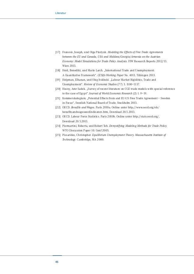 Studie: Wer profitiert von einem transatlantischen Freihandelsabkommen (TTIP) (Teil 1 von 2)?