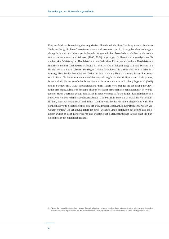 9 THIP-Szenarien 3.THIP-Szenarien Wie wirkt ein Freihandelsabkommen im Allgemeinen und eine Transatlantische Handels- und...