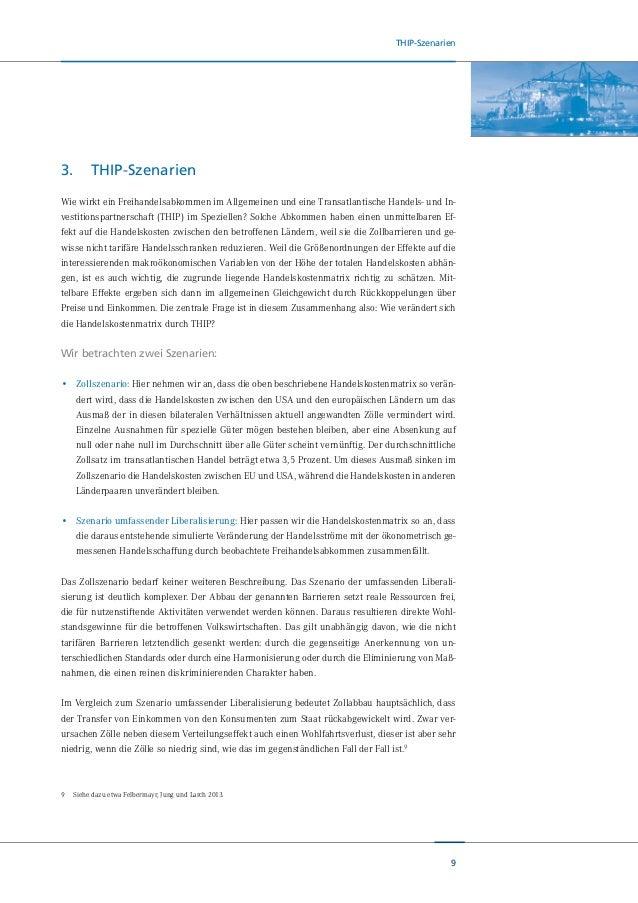 10 THIP-Szenarien Um unsere Herangehensweise zu anderen Studien abzugrenzen, verwenden wir Abbildung 2. Diese zeigt durch ...
