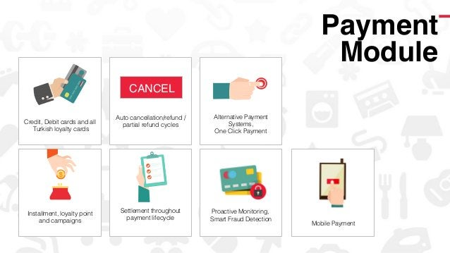Mobile Payment! ! Credit, Debit cards and all Turkish loyalty cards! Auto cancellation/refund / partial refund cycles! Set...