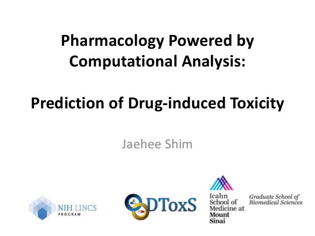 Pharmacology Powered by Computational Analysis: Predicting
