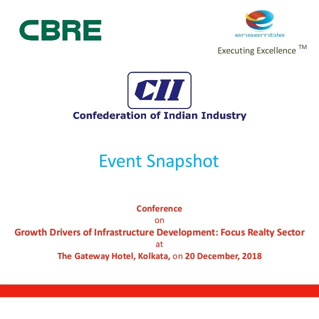 Snapshot of CII-CBRE Conference on Growth Drivers of