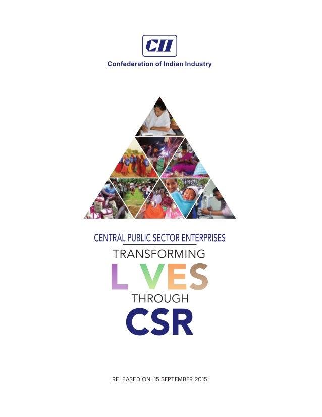 Transforming Lives Through CSR Slide 2