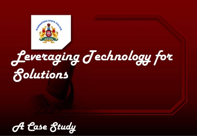 Leveraging Technology for Solutions A Case Study