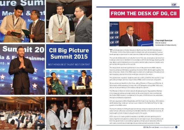 CII Big Picture Summit 2015 Retrospective Slide 2