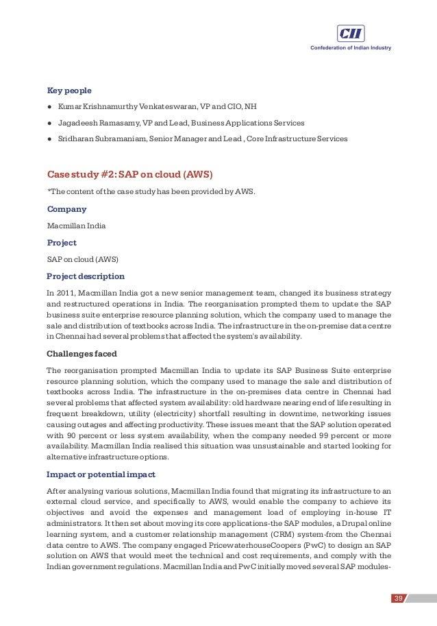 Key people l Kumar Krishnamurthy Venkateswaran, VP and CIO, NH l Jagadeesh Ramasamy, VP and Lead, Business Applications Se...