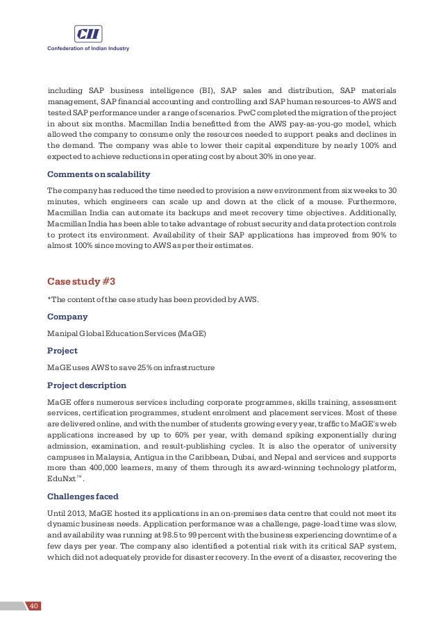 including SAP business intelligence (BI), SAP sales and distribution, SAP materials management, SAP financial accounting a...