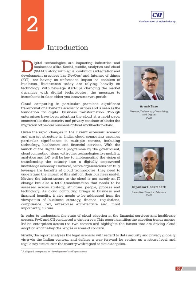 2 Introduction 1 A clipped compound of 'development' and 'operations' Digital technologies are impacting industries and bu...