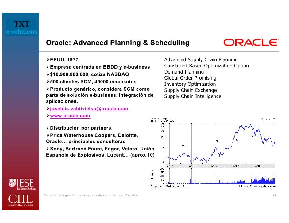Ciil presentation oracle advanced planning scheduling advanced supply chain publicscrutiny Images