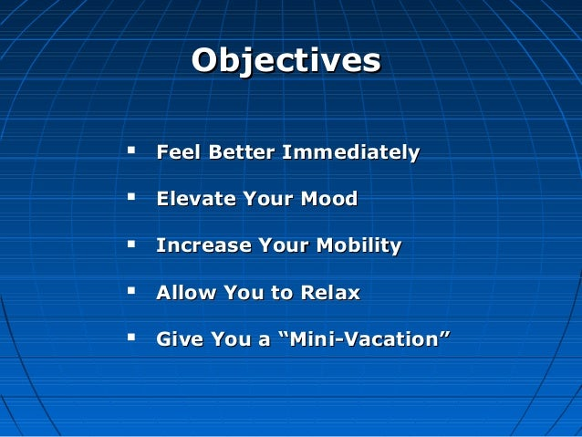 Feel Better Now: A Peak Stress Release Experience Slide 2