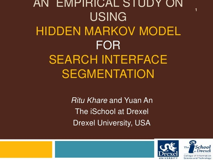 An Empirical Study on Using Hidden Markov Models for Search Interface Segmentation