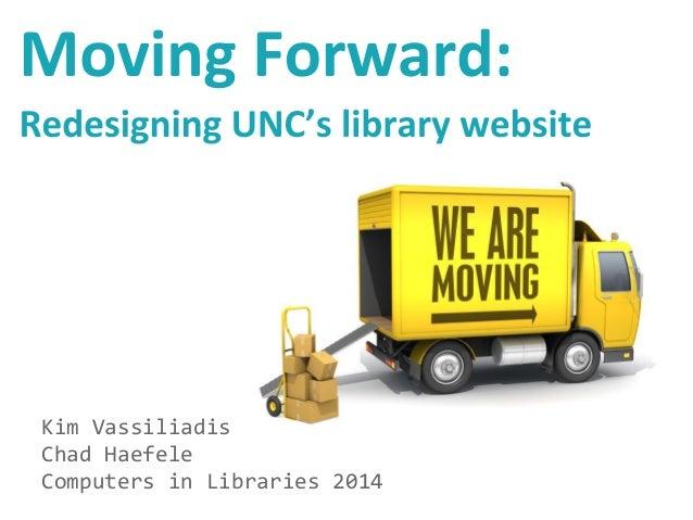 Kim Vassiliadis Chad Haefele Computers in Libraries 2014