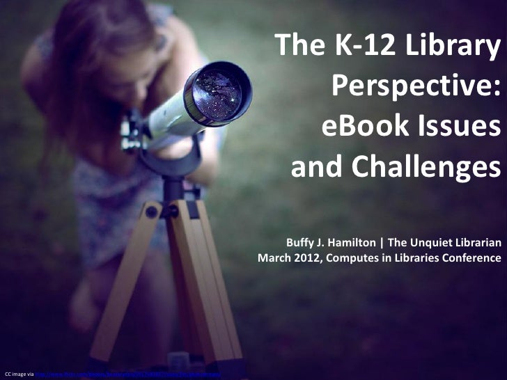 The K-12 Library                                                                                                 Perspecti...