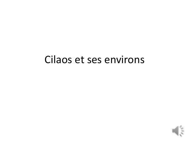 Cilaos et ses environs