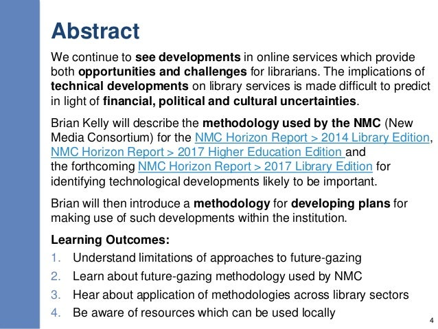 Abstract We continue to see developments in online services which provide both opportunities and challenges for librarians...