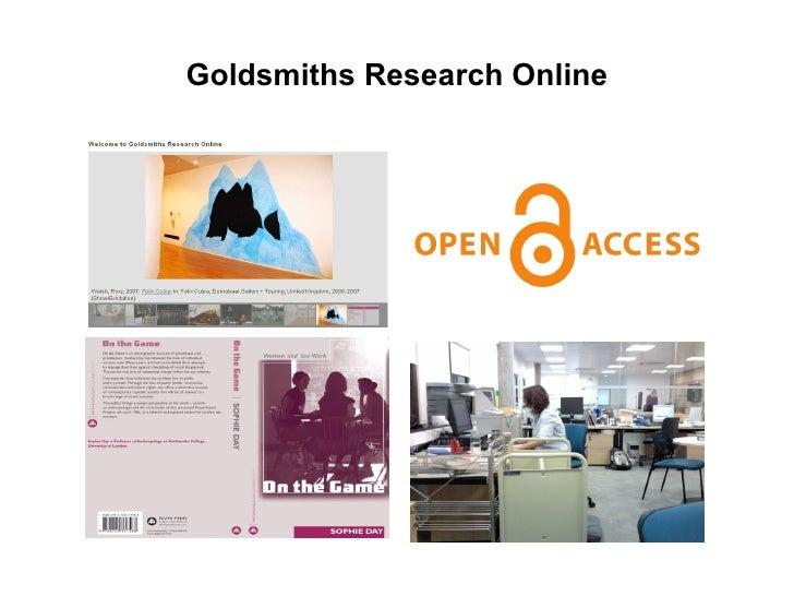 Goldsmiths Research Online
