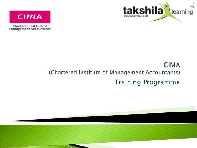 Training Programme
