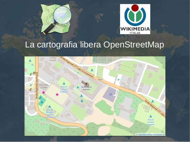 La cartografia libera OpenStreetMap