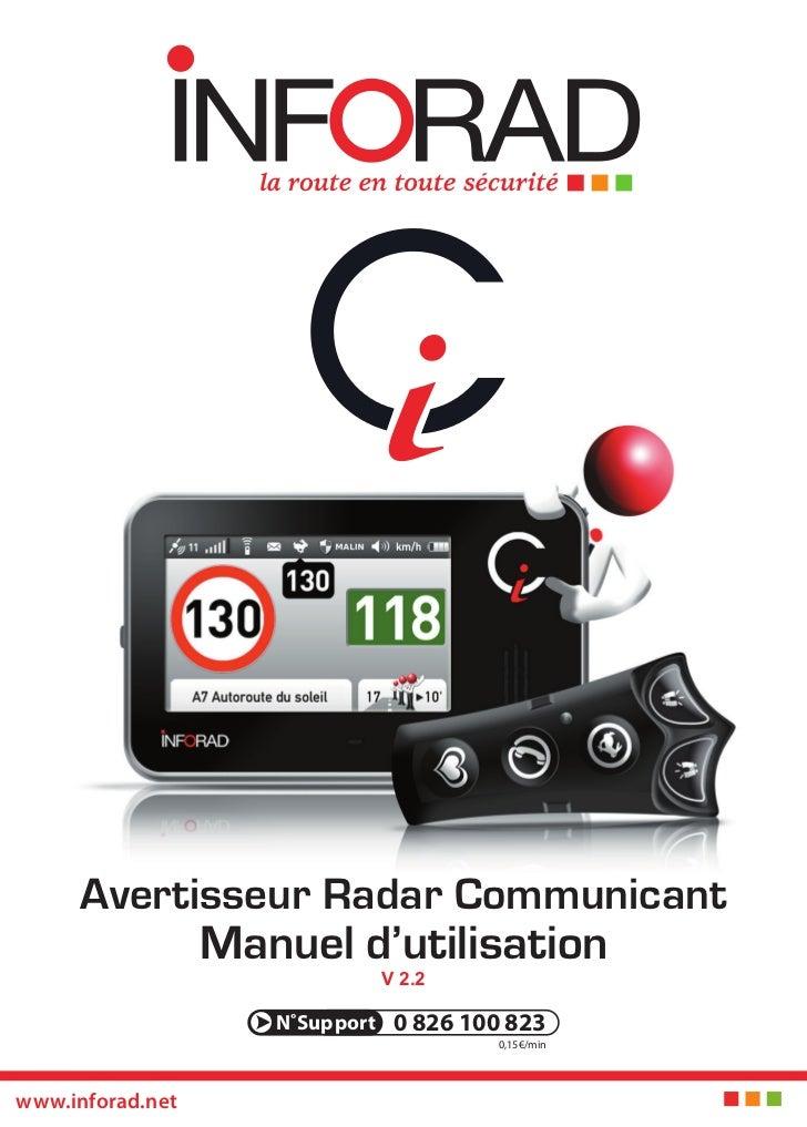 Avertisseur Radar Communicant                  Manuel d'utilisation                             V 2.2                     ...