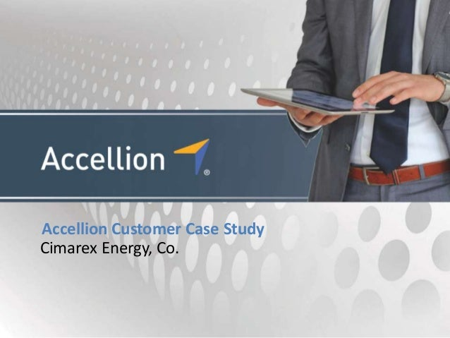 Accellion Customer Case StudyCimarex Energy, Co.