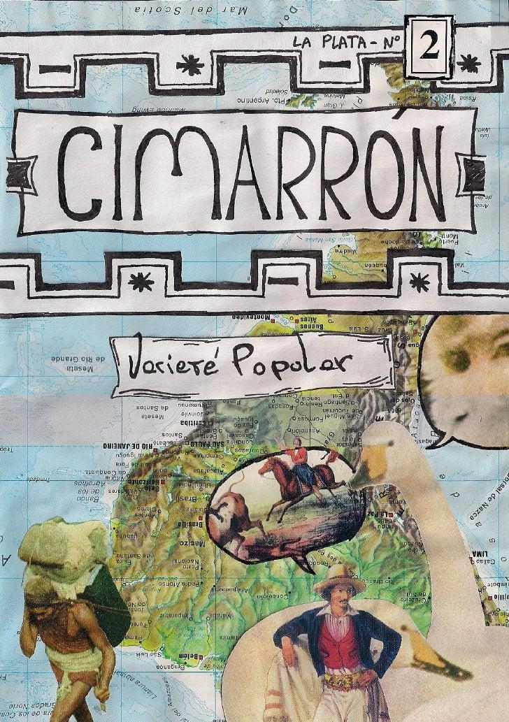 Cimarron Nº2 - Varieté Popular