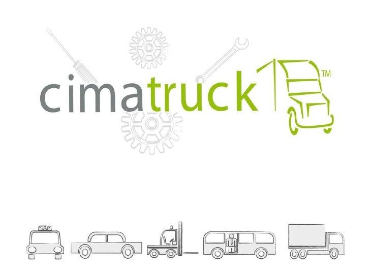 Cimatruck provee soluciones flexibles y fácilesde usar para la gestión de flotas en pequeñas ygrandes empresas ayudándoles...