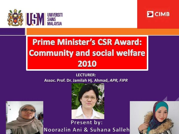 LECTURER:Assoc. Prof. Dr. Jamilah Hj. Ahmad, APR, FIPR