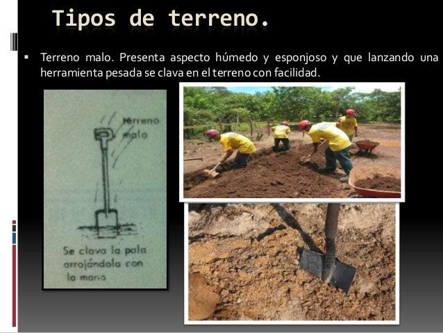 Cimentaci n for Tipos de terreno