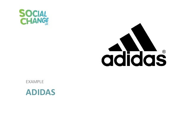 adidas and its ethical and csr Corporate social responsibility (csr) is a self-regulation mechanism whereby an organization actively monitors society, the environment, global trends, ethical principles, and legal standards for compliance.