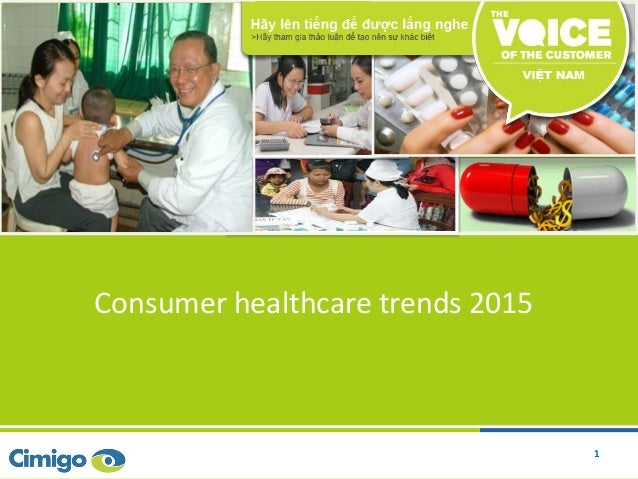 1 Consumer healthcare trends 2015 1