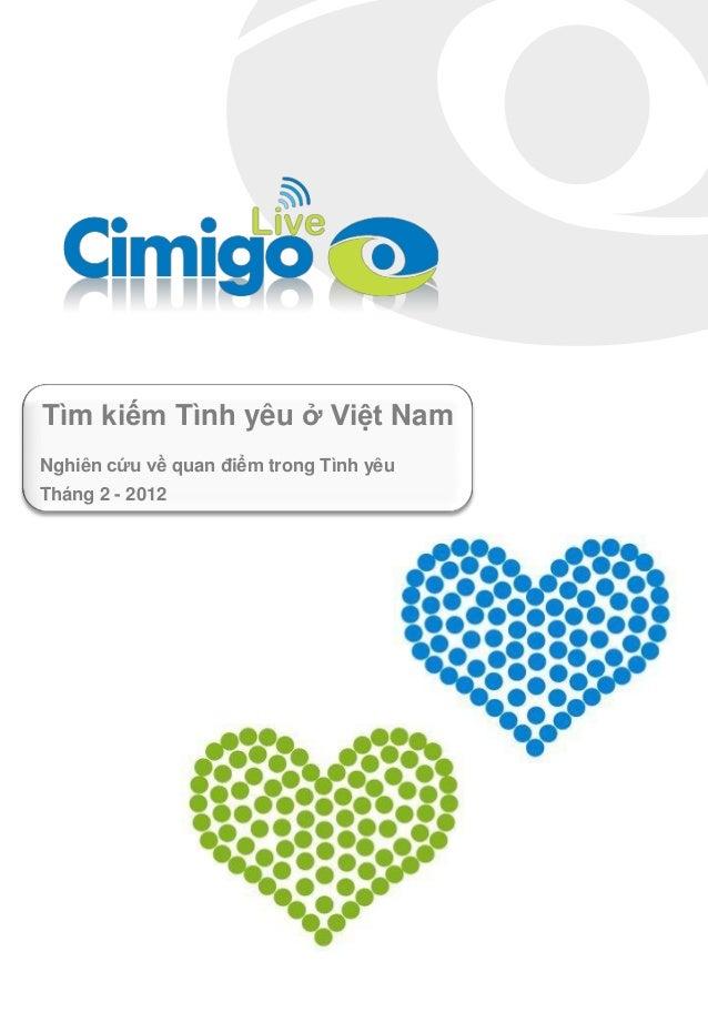 Tìm kiếm Tình yêu ở Việt Nam Nghiên cứu về quan điểm trong Tình yêu Tháng 2 - 2012
